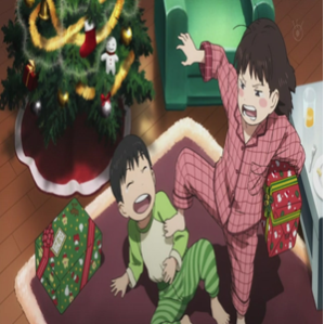 Mirai and Yuuki Christmas